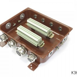Клеммные коробки с наборными зажимами КЗНС 32 и КЗНС 48