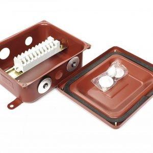 Клеммные коробки с наборными зажимами КЗНА 08 и КЗНА 16